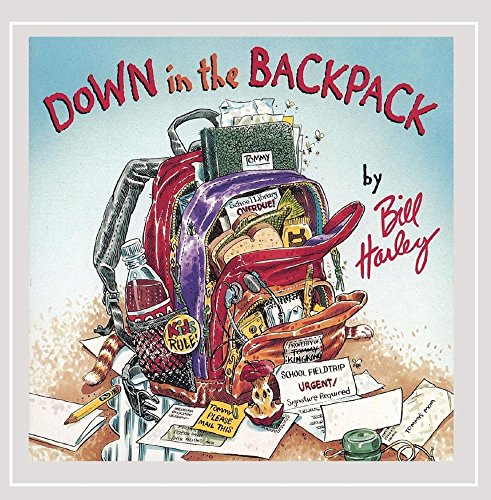 Down in the Backpack -  Bill Harley, Audio CD
