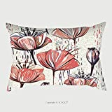 Custom Satin Pillowcase Protector Vector Colorful Tulips On The Texture Background Seamless Pattern Can Be Used For Wallpapers 527722573 Pillow Case Covers Decorative