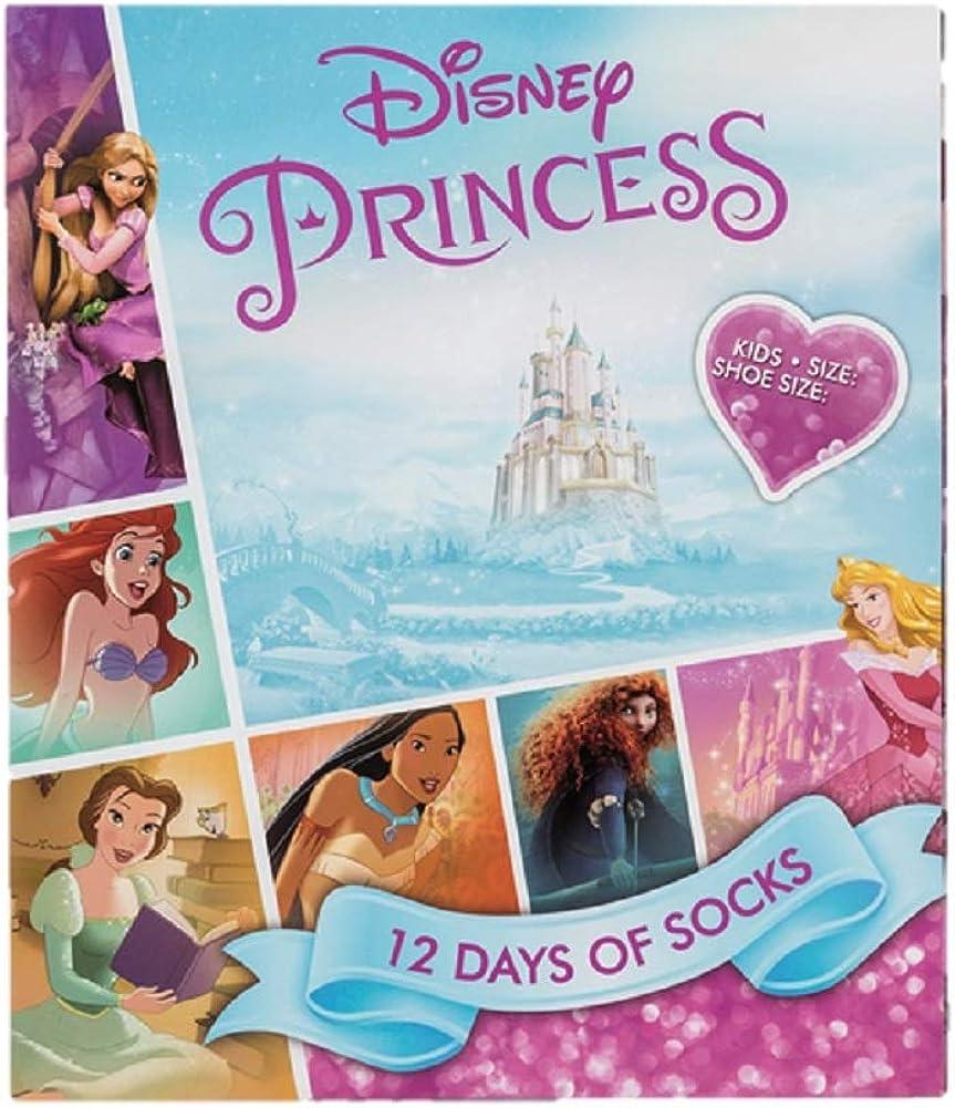 Pink//White Disney Princess Cinderella Socks Size UK 9-12
