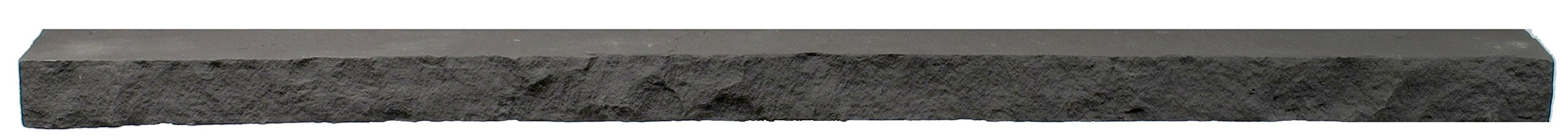 NextStone Sandstone 4 Foot Ledger Charcoal 4 Pack