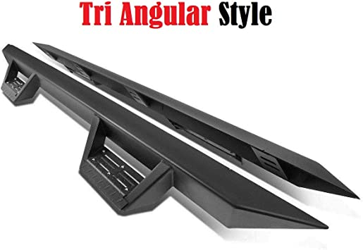 1999-2015 for Ford-F250 SD Crew Cab  Side Steps BLK Running Boards Bar