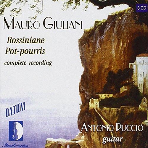 Price comparison product image Giuliani: Rossiniane Pot-pourris (Complete Recordings)