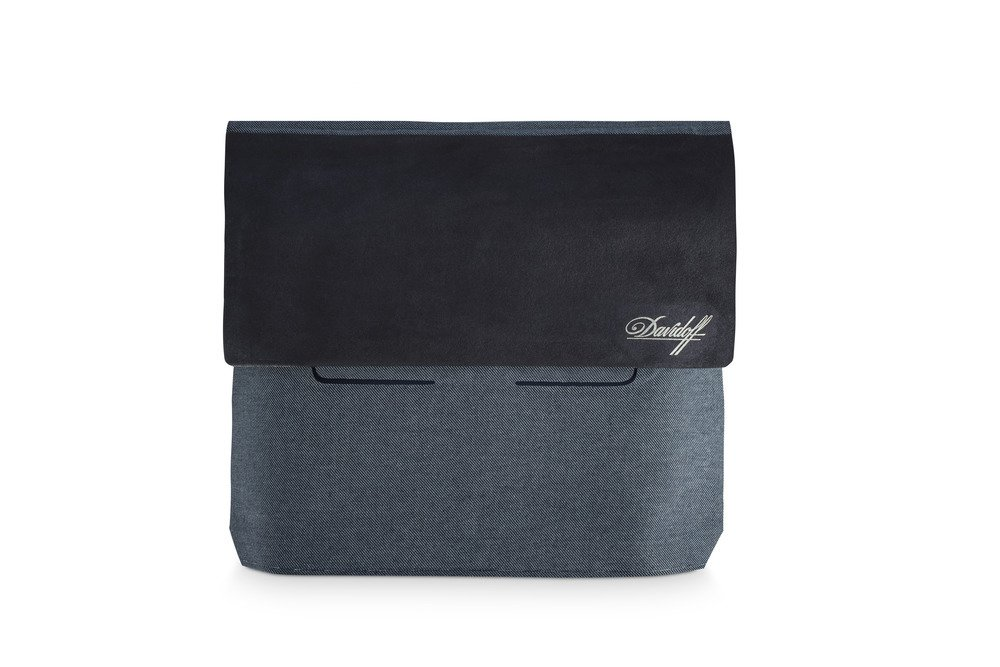 Davidoff Explorer Travel Cigar Case, Made in Italy - Holds 10 Cigars by Davidoff