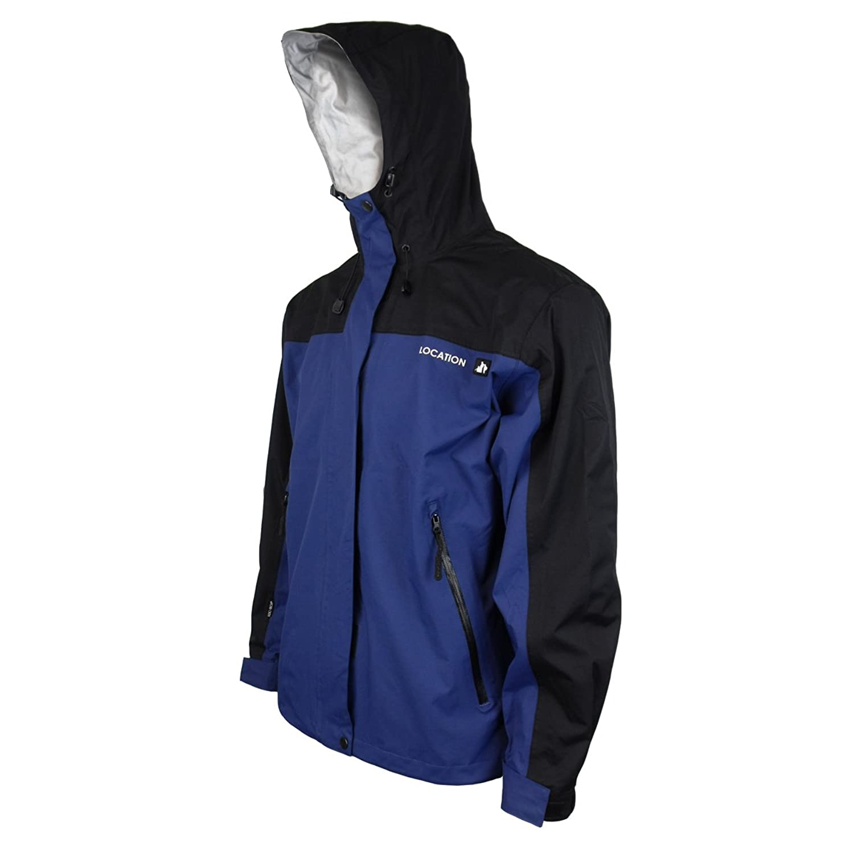 Mens Location Waterproof Starlord Rain Hooded Jacket School Ski Outdoor Coat New