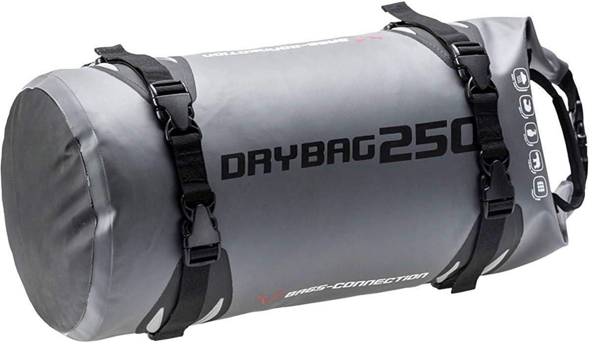 Wasserdichte Hecktasche Drybag 250 25 Liter Grau Schwarz Wasserdicht Auto