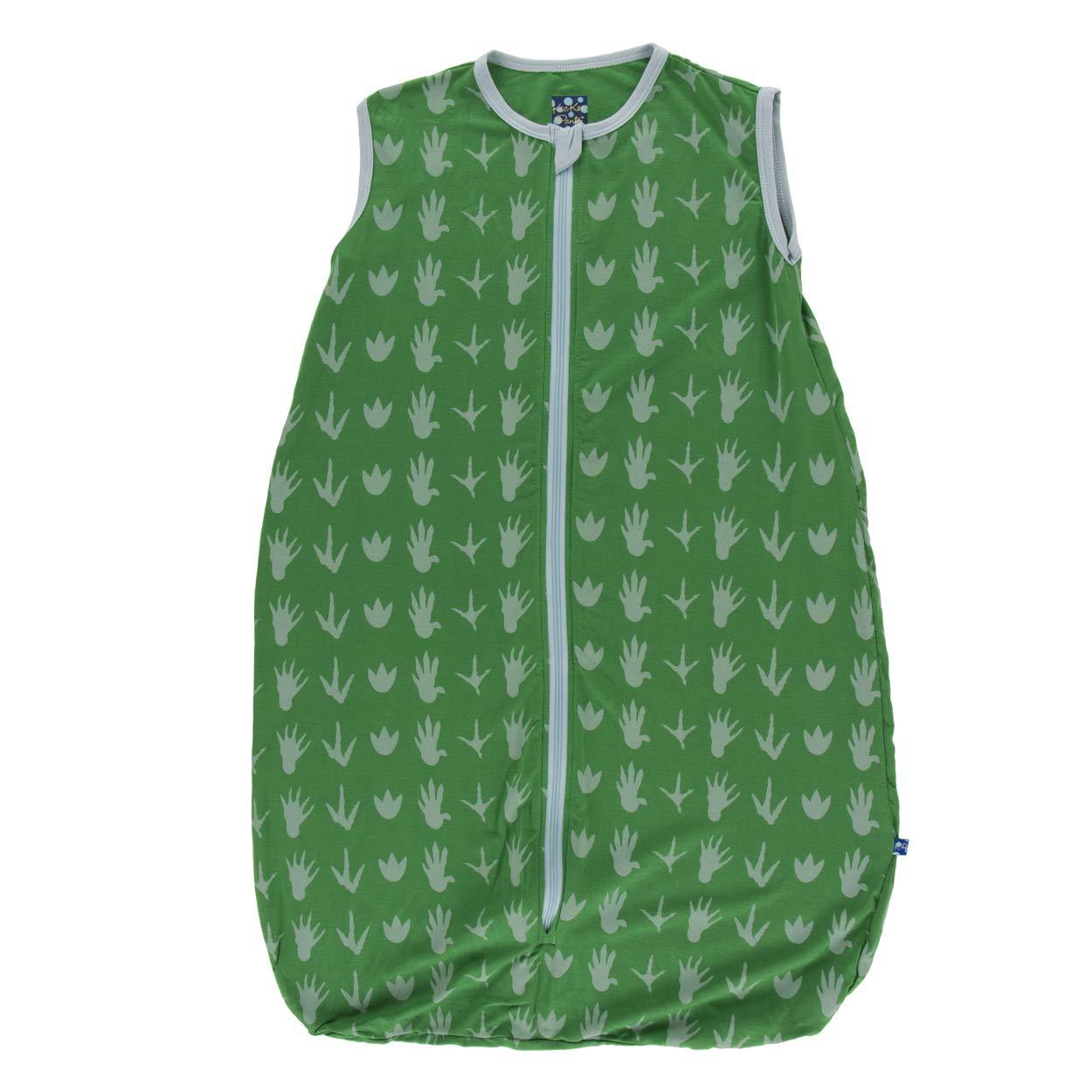 KicKee Pants Print Lightweight Sleeping Bag (0-6 Months, Dino Tracks) by Kic Kee Pants