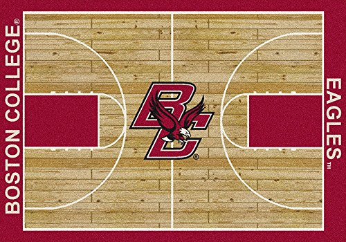 American Floor Mats Boston College Eagles NCAA College Home Court Team Area Rug 5'4