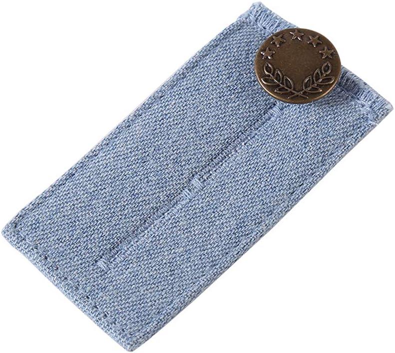 Decdeal Waist Extender Adjustable Pregnancy Waist Button Extender for Pants Jeans Trousers and Skirts