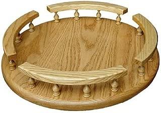 """product image for Amish Hardwood Revolving Lazy Susan (12"""", Oak)"""