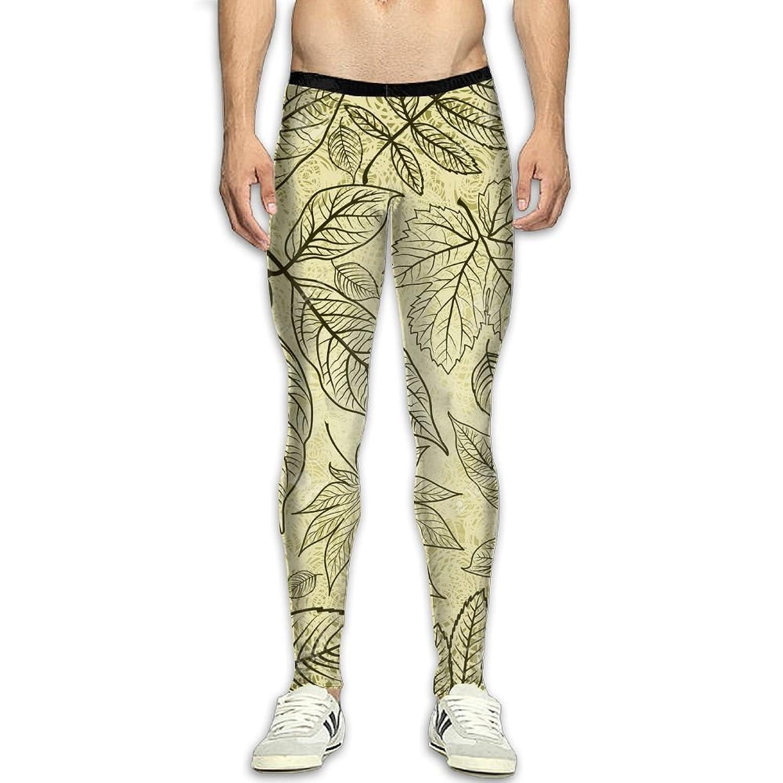 7d1bbeda64 MSYGP Maple Leaf Compression Pants Men Crazy Tights Leggings Running ...
