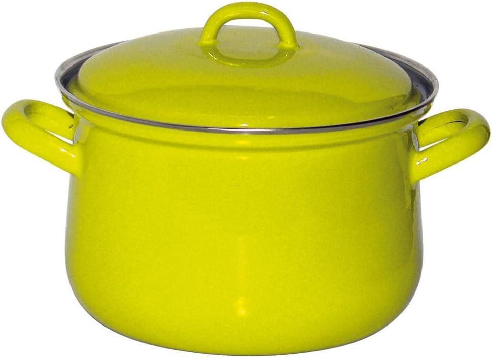 Fleischtopf m.Deckel 18cm,2.5L Fresh Lemon Green