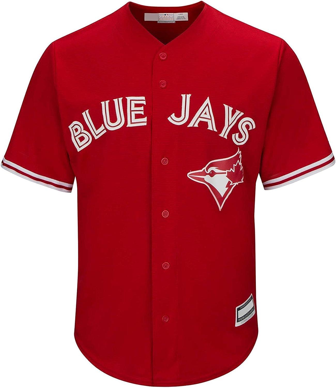 Amazon.com: Kevin Pillar Toronto Blue Jays Red Kids Cool Base ...