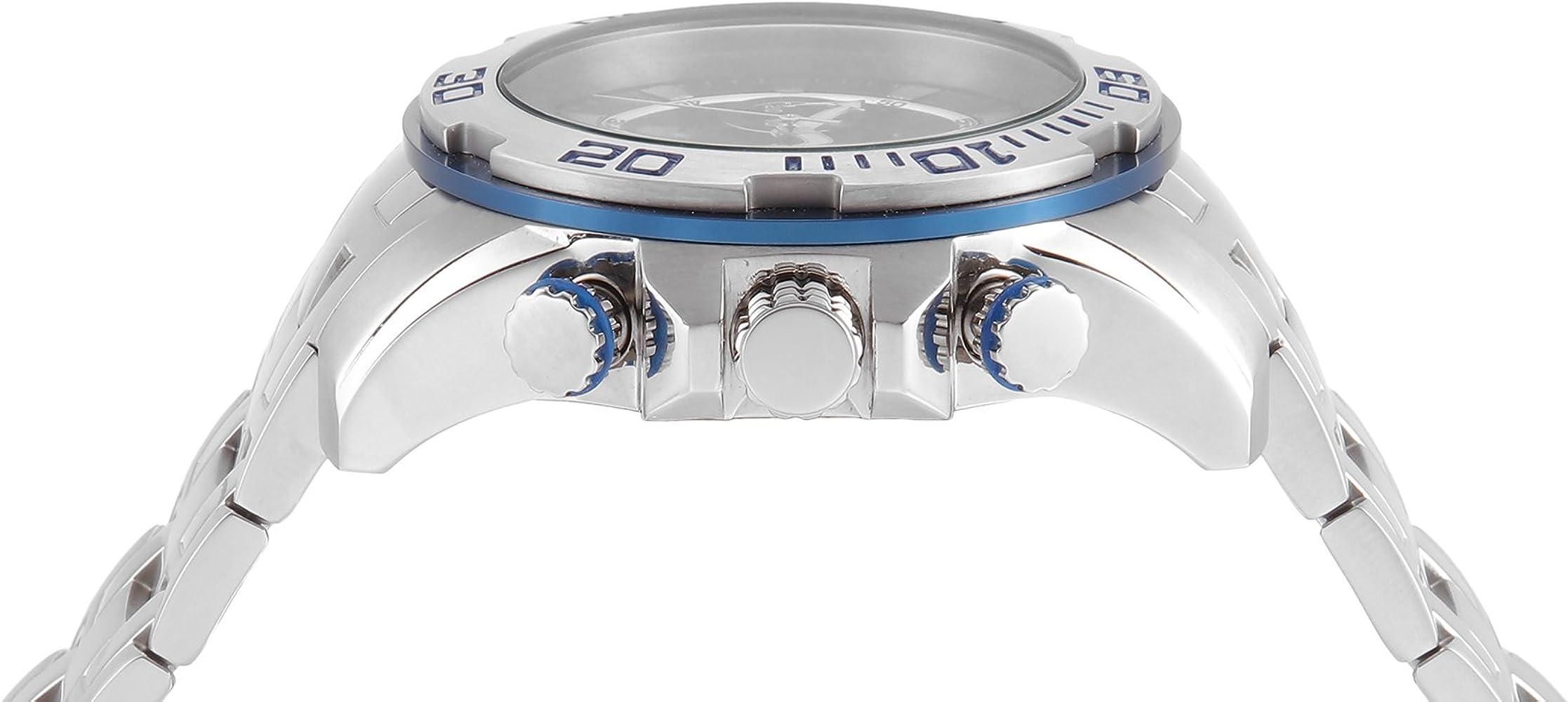 Invicta Men Pro Diver Quartz Watch with StainlessSteel Strap Silver 26 Model 22319