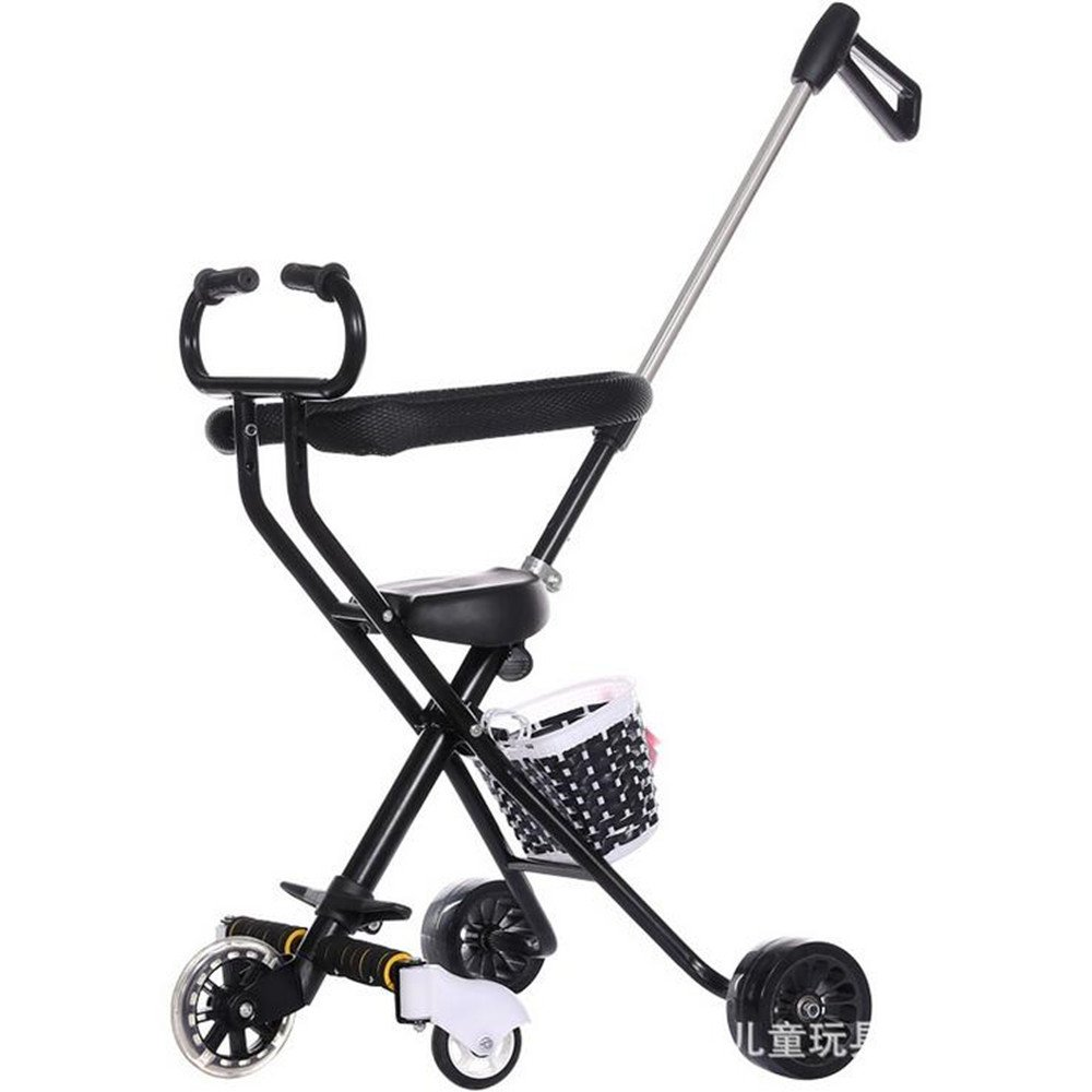 YBL Baby Stroller Simple cart for children Five rounds cart folding baby carriage Light weight Can fly by plane Suitable for 1-6 year old