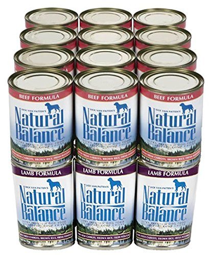 Natural Balance Beef & Lamb Wet Food Bundle - 24x13oz
