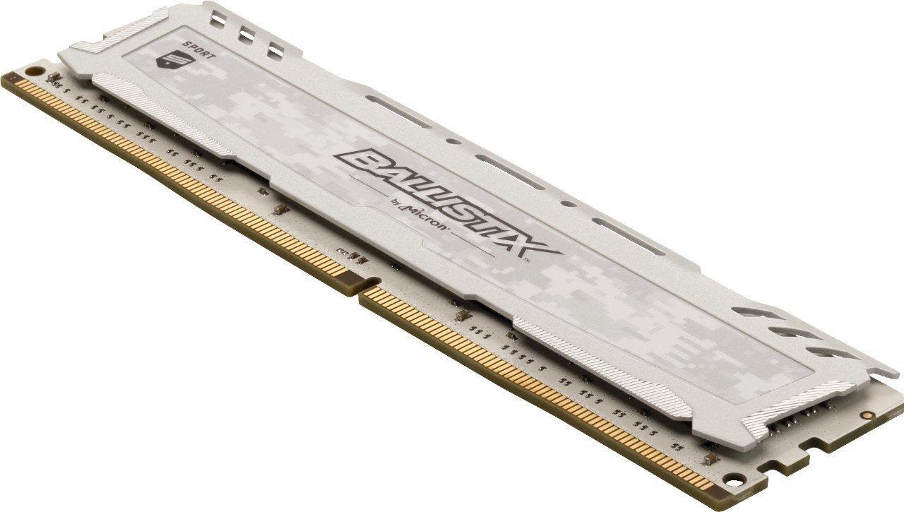 288-Pin PC4-21300 Grigio DIMM DDR4 Ballistix Sport LT BLS8G4D26BFSBK Memoria da 8 GB Single Rank x8 2666 MT//s