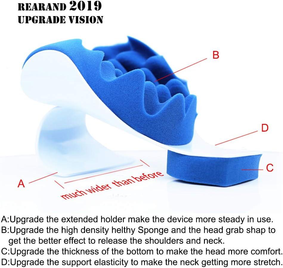 Rearand Repose-t/ête de relaxation du cou et des /épaules Soulagement de la douleur du cou et des /épaules