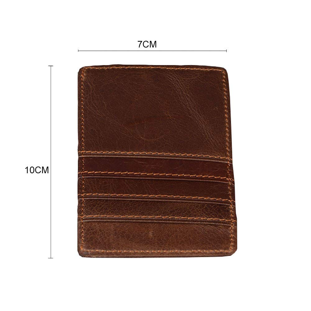 GzxtLTX Men Wallet PU Leather Credit Card Holder RFID Card Protector by GzxtLTX Bags (Image #4)