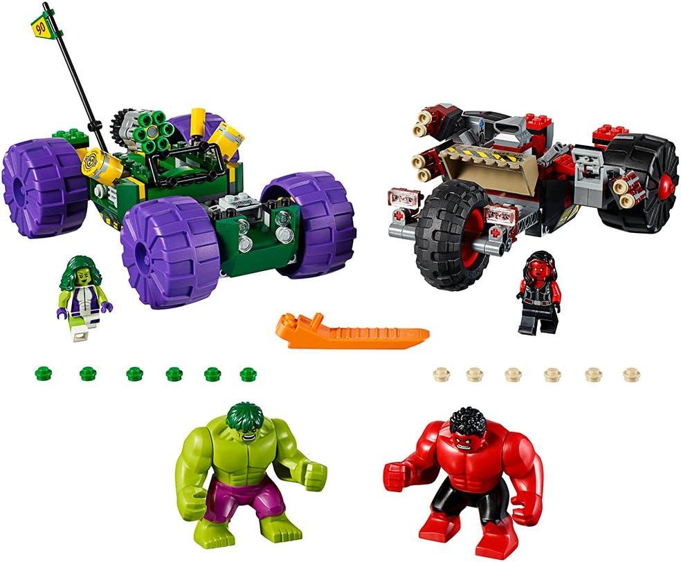 Lego Red Hulk 76078 Big Figure Avengers Super Heroes Minifigure