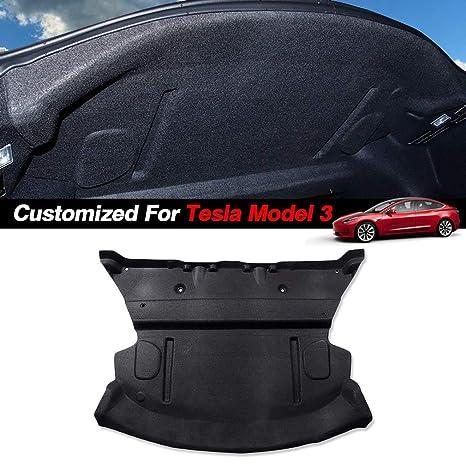 Amazon com: Customized for Tesla Model 3 Car Rear Trunk,Soundproof