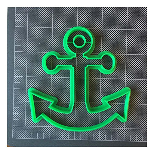 Anchor Cookie Cutter / Fondant Cutter / Cupcake Topper -PLA plastic (4 inch) from Unknown