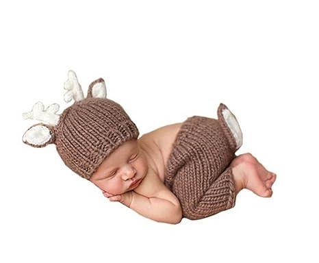 jastore® Foto Fotografía Prop dulce bebé Disfraz ciervo ...