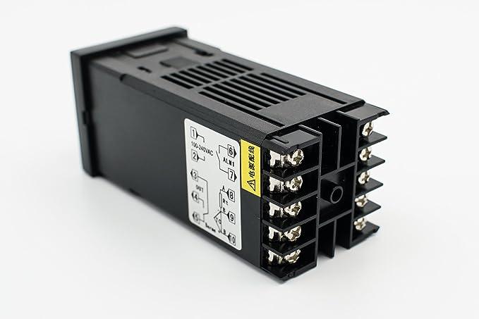 REX-C100 RKC temperature controller Thermostat temperature controller universal input high precision temperature control - - Amazon.com