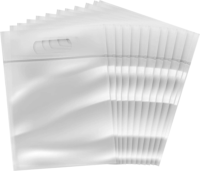 Bolsas Transparentes para los Líquidos Equipaje de Mano Viaje Conforme Seguridad de Aeropuerto Avión (Paquete de 12)