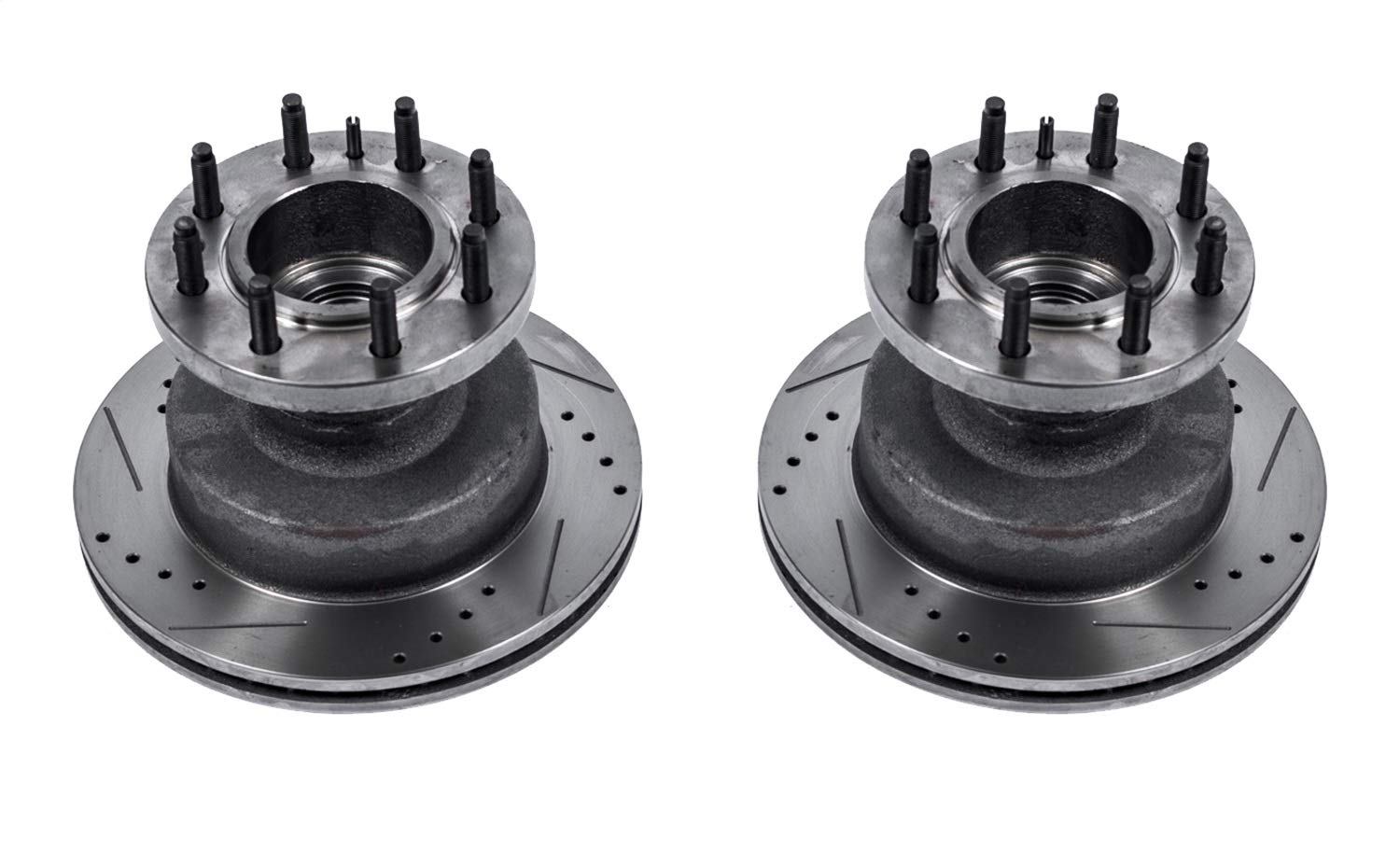 Power Stop AR8542XPR Front Evolution Drilled /& Slotted Rotor Pair