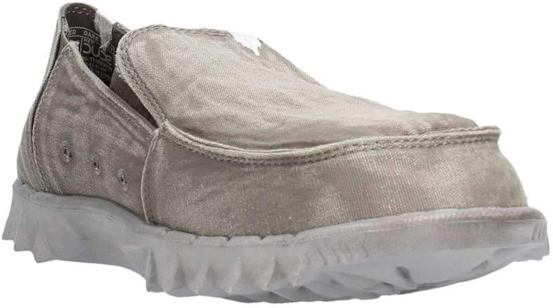 Dude Shoes Hommes de Farty Lav/é Slip Gris Fonc/é Sur//Mule