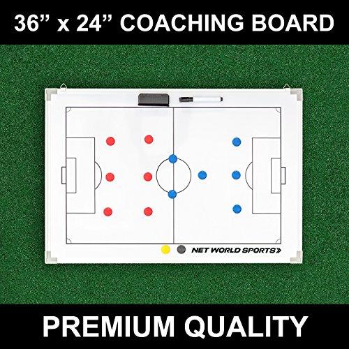Soccer Tactics/Coaching Board 36in x 24in [90cm x 60cm] - [Net World Sports]