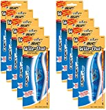 BIC White-Out Exact Liner Correction Tape Pen 1/5''x236'' 10-PACKS Pens (WOELP11)