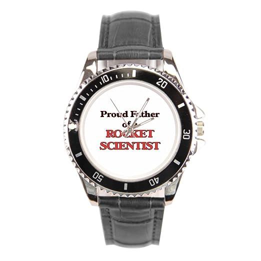 findself Hombres Viaje Espacial de La Nasa Espacio Shuttle réplica correas correa de piel Vintage reloj de pulsera: Amazon.es: Relojes