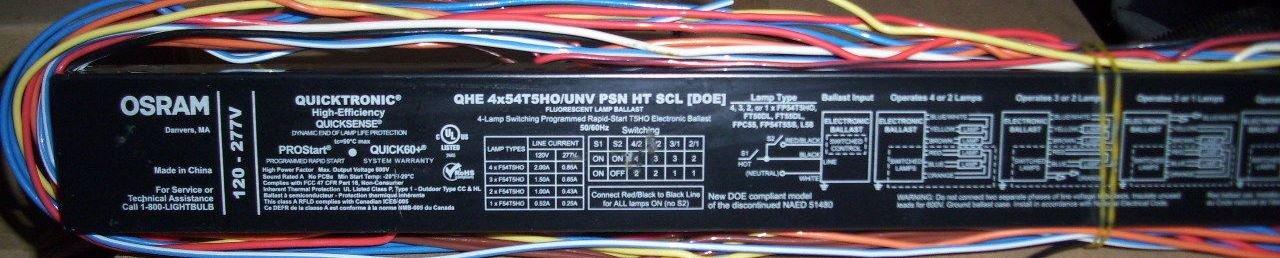 QHE4X54T5HOUNVPSNHTSCLDOE High efficiency Sylvania 52665