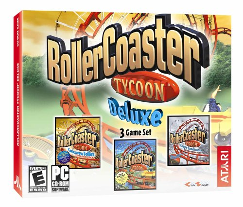 Rollercoaster Tycoon Deluxe (Jewel Case) (輸入版): PC: Computer and