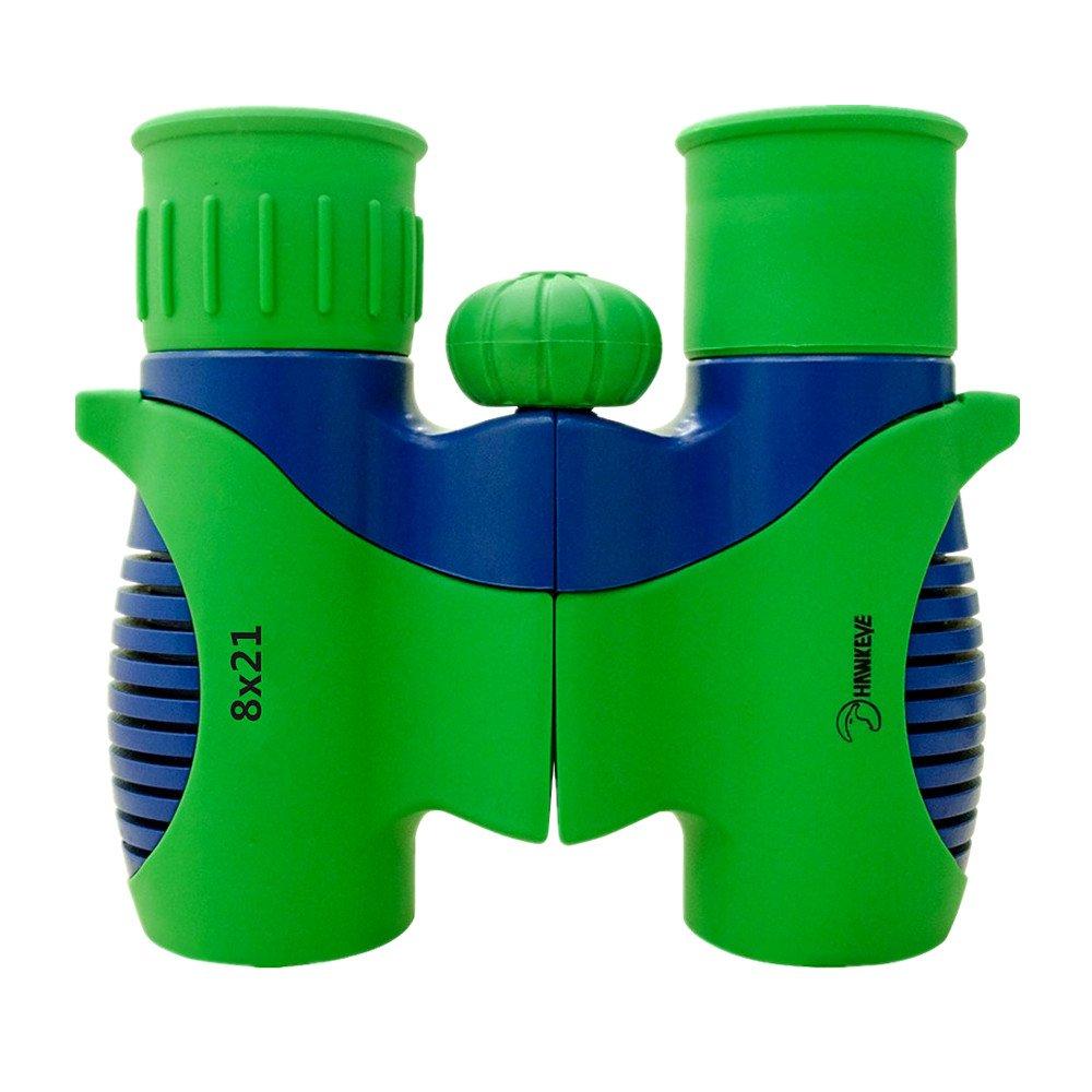 Hawkeye 8x 21Kinder Fernglas für Kinder, stoßfest Toys für die Vogelbeobachtung, Educational Learning, Jagd, Wandern, Geburtstag Presents, spielen Spiele