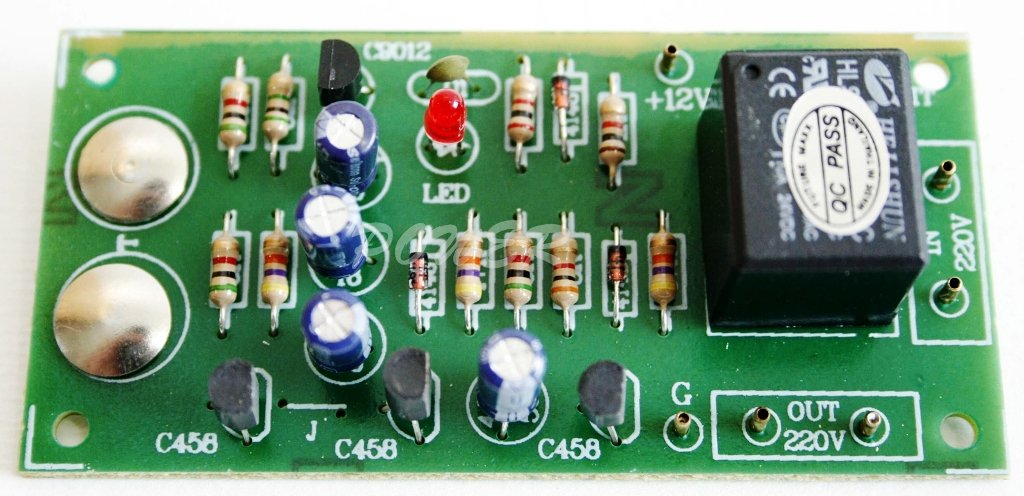 touch electronic switch on off 12vdc relay 5a circuit board touch