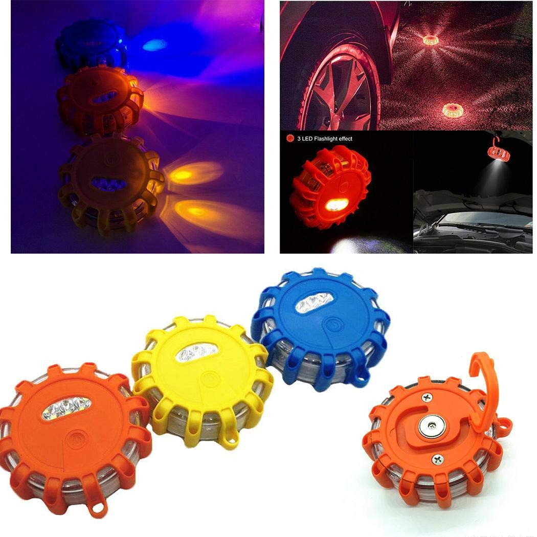 Ferita Traffic Safety Warning Roadblock Light Stroboscopic Magnetic-Attraction Light