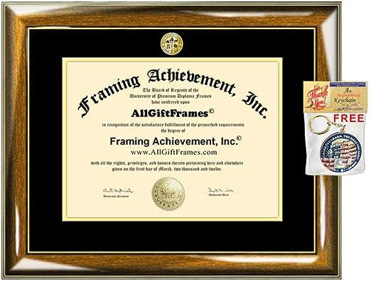 Custom Frame Great for Photos /& Certificates