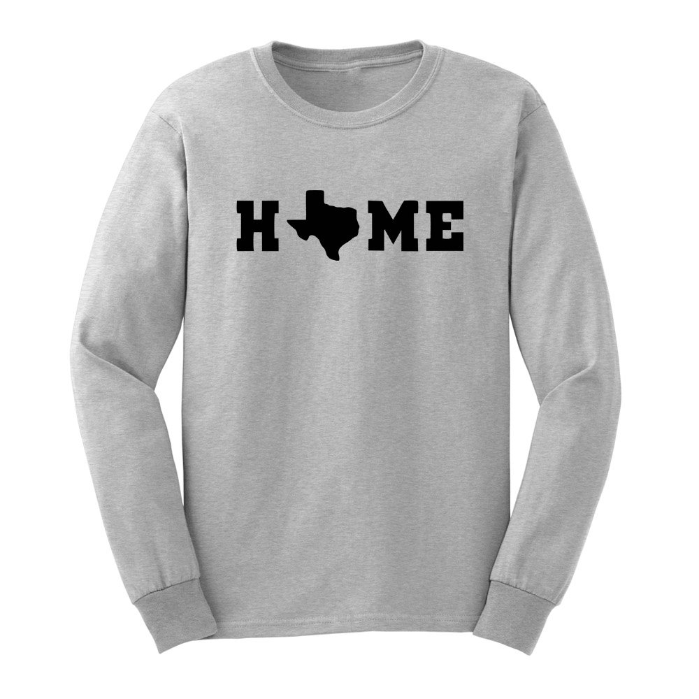 Loo Show S Texas Home State Adult T Shirts Casual Tee