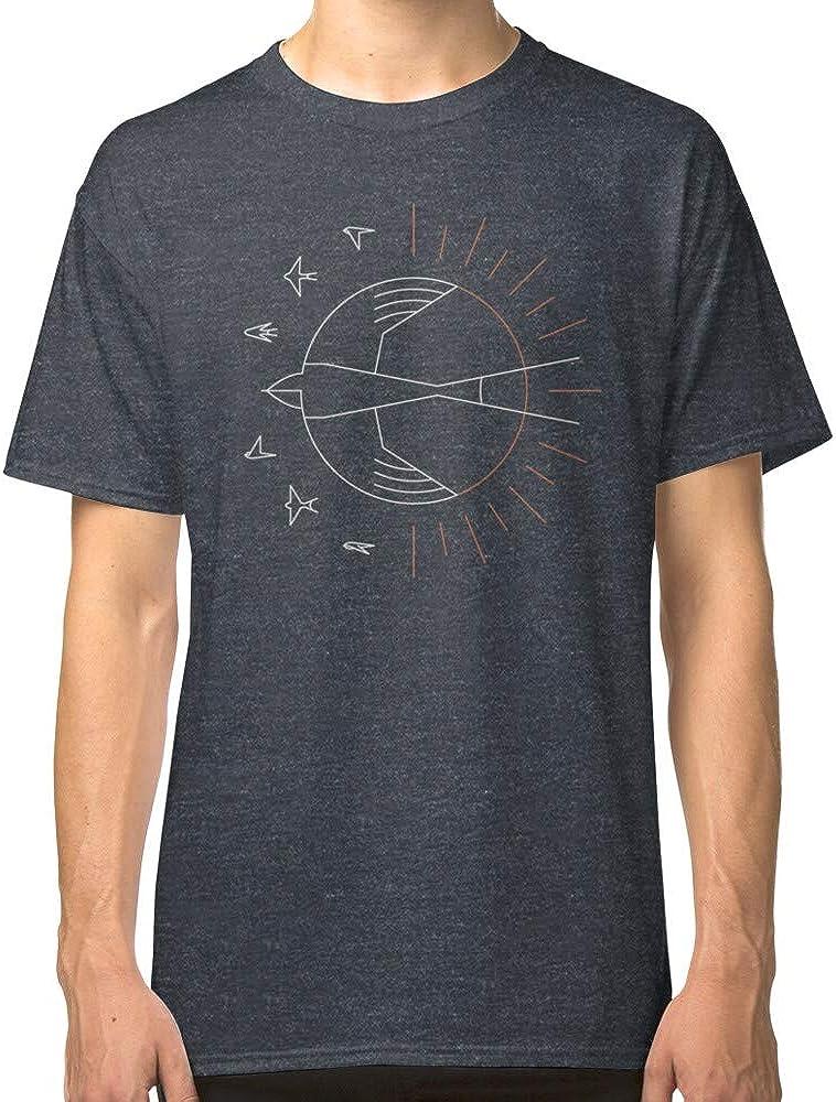 Tragar el sol clásica camiseta para padres, padre, madre, hombres, mujeres, niño, niña, ajuste cómodo para llevar en cualquier lugar