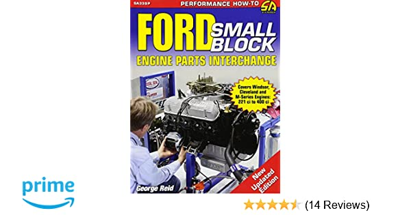 ford engine parts interchange manual