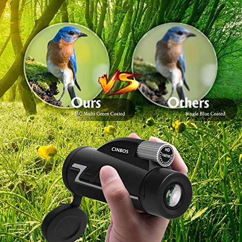 16x50 Monocular Telescope, High Powered Monocular Scope with Phone Adapter and Tripod, Waterproof Fogproof Optics FMC BAK4 Prisms, Single Hand Focus for Outdoors Like Bird Watching etc.