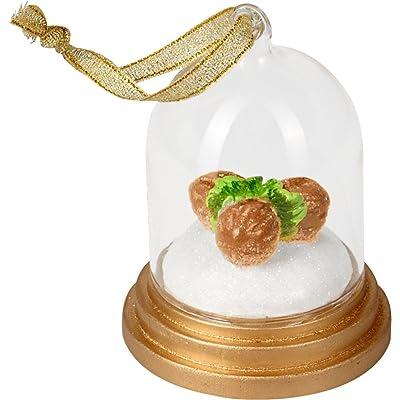 Bola de Nieve Colgante Decoracion 3 avellanas par Cenicienta: Hogar