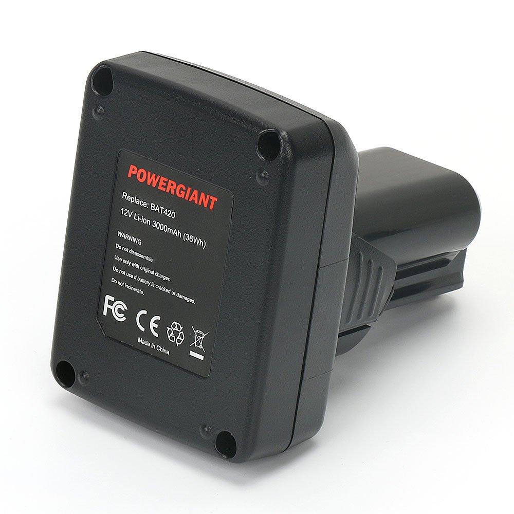 PowerGiant 24V 2.0Ah NiCd Extended Battery for Bosch BAT030 BAT031 BAT240 BAT299 B-8230 BH-2424