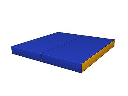 Tappeto Morbido Per Bambini : Sportkid tappetino da ginnastica blu giallo morbido per bambini