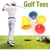 beautygoods golf tees silicone winter golf tees sports golf accessory rubber 4pcs