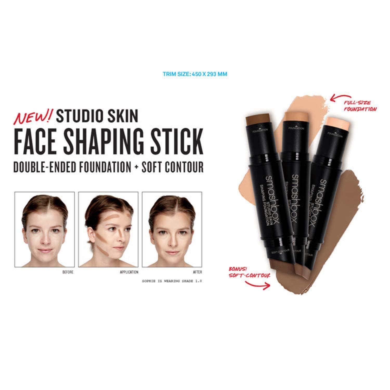 Smashbox Studio Skin Shaping Foundation Stick 1.1 Fair Soft Contour