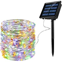 Luces de hadas solares de Ankway [mejoradas] Luces