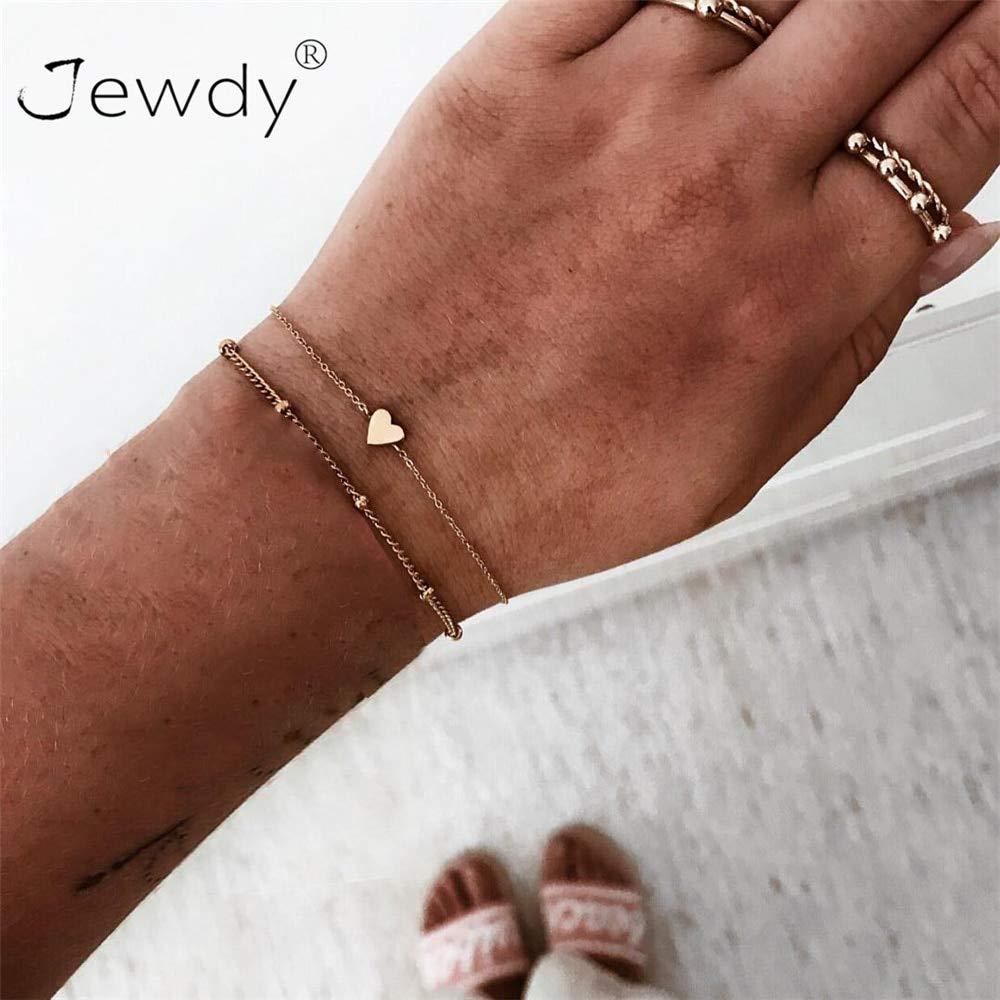 Bracelets /& Bangles 5 Pcs//set Bohemian Pineapple Turtle Heart Earth Bracelet Sets for Women Weave Rope Chain Bracelets Pulseras Mujer Stone Jewelry